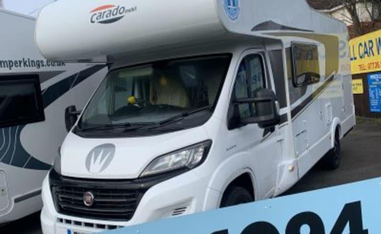 camper kings hire Ltd – Fiat Carado 6 persoons luxe camper