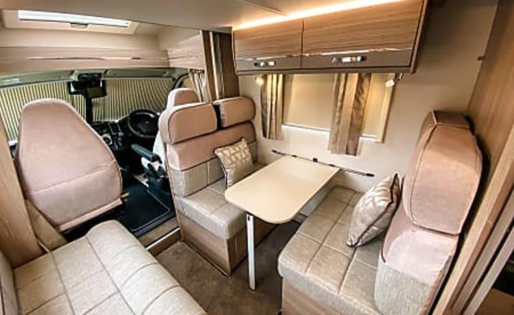 Camperkings hire ltd – 2019 Peugeot Elddis 6 Berth luxury motorhome