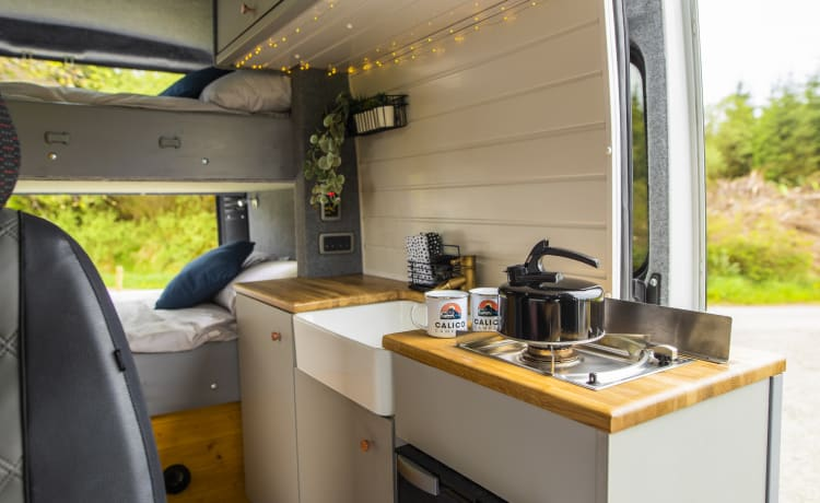 'DANI' – Newly-fitted 4-berth campervan perfect for families, friends and couples!