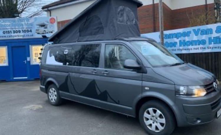 Grey – Automatic Volkswagen Campervan