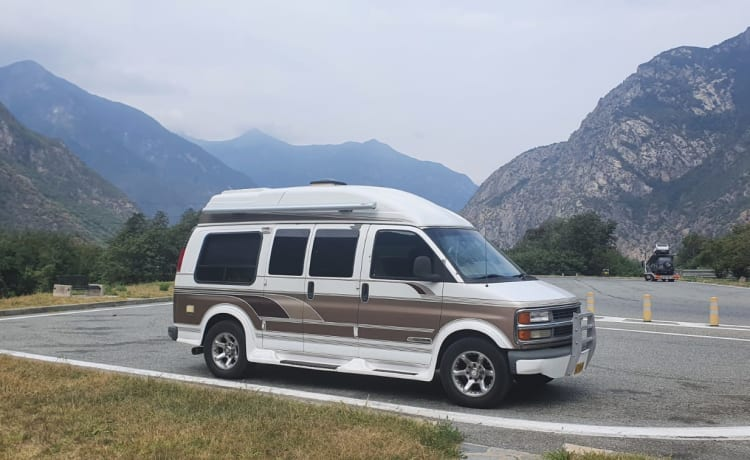 Ons Jayco – Chevrolet camperbus / Chevy Van