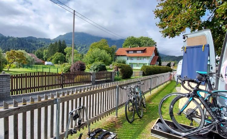 Campionette – DIY camper voor de fietser