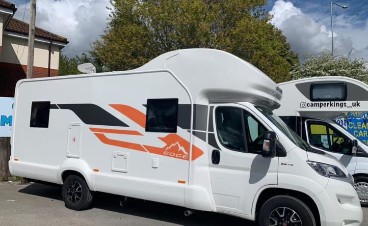 The edge – Luxe camper swift edge 4 persoons