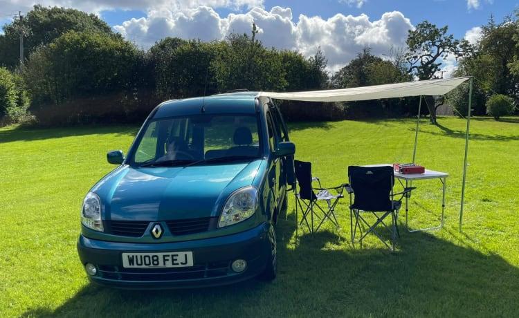Skippy – Renault Kangoo Micro Camper 1 Slaapplaats