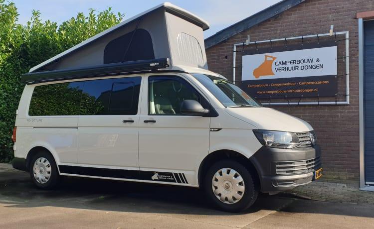 Volkswagen T5/6 5 person camper for rent