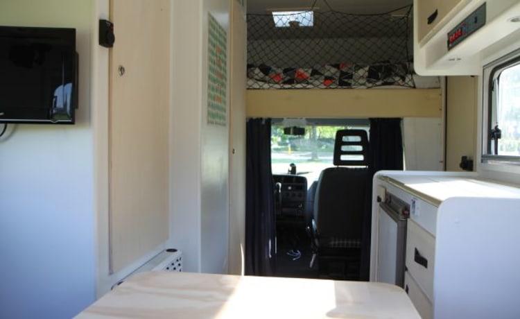 Friendly Camper – Gerestylde roadtrip camper