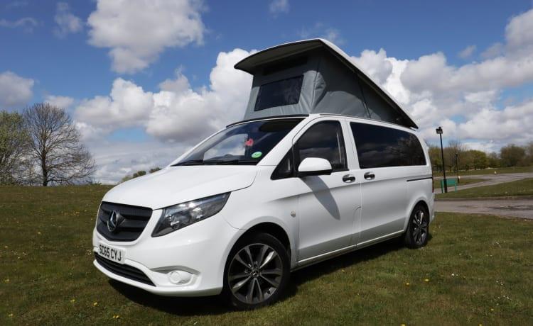 Mercedes Vito Pop-top Campervan