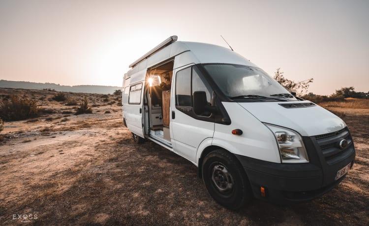 Jef – Jef, onze offgrid campervan