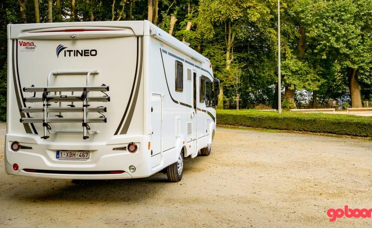 Ideale familiecamper Itineo SB740