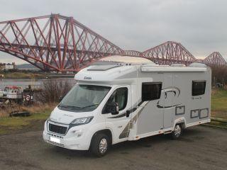 Motorhome Hire Fife - between Edinburgh & St Andrews