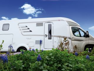 New Hymer T678 Golden limited for rent for a blissful travel adventure