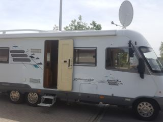 C driving license. Camper Hymer e690 very extensive