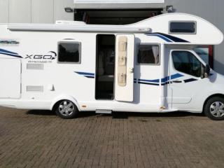 G-type – Nieuwe, zuinige familiecamper 200 extra's, tv, 2 x airco, campingboeken
