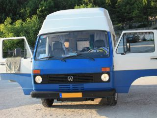 VW LT28-blauw – The only real Volkswagen LT 28 - The classic spacious motorhome