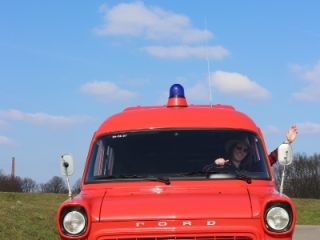 Klassieke Brandweerwagen-Camper 41