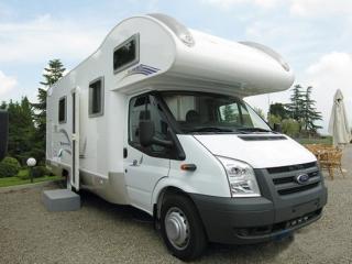 #6 Ford Rimor Katamarano Camper uit 2009 met stapelbedden (Camper 6) – Zeer Luxe 7 Persoon's Alkoof Camper uit 2009 met 2 Stapelbedden  (Camper 6)
