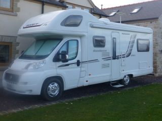 Motorhome Hire Chester & Wrexham  6 BERTH - Explore Snowdonia & North Wales