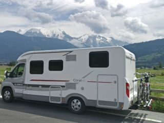 Very young, luxurious and comfortable Adria camper 2P Automatic