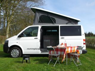 Pebbles  – Stylish Modern 4 Berth VW Campervan