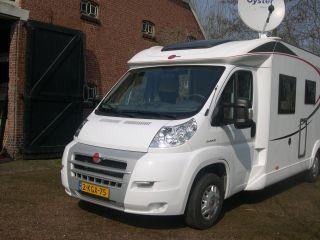 Relaxed en comfortabel rijdende Burstner Nexxo t 728