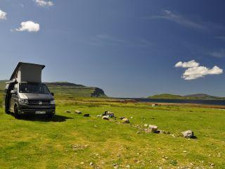 VW T6 California Ocean elekt. Dach Küche, Navi Rück-camera, 4 Schlafp