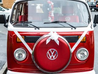 Ruby - Classic VW Campervan Wedding and prom hire.