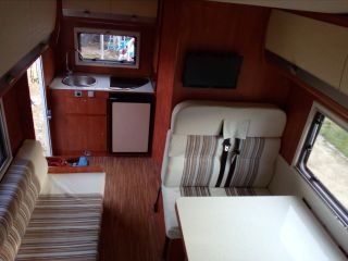 Compact cozy motorhome for rent