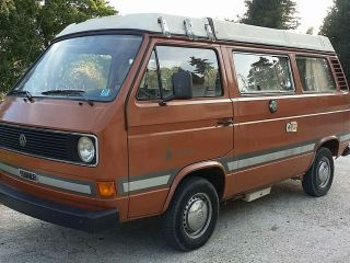 Volkswagen T3 Westfalia Brown