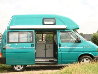 VW T4 met vast hoogdak, voor avontuurlijke gezinnen!
