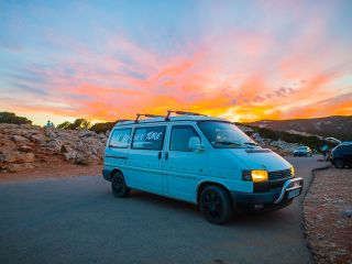 Westfalia T4 California for Rent Sardegna NuVan