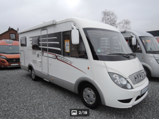 Luxury Hymer integral 5 people