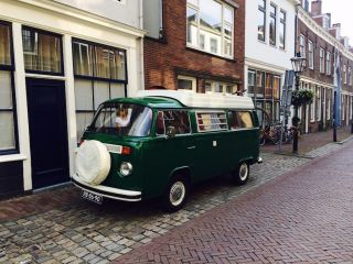 Charming Volkswagen T2 camper van from 1974