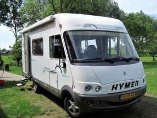 Hymer camper 5 persoons