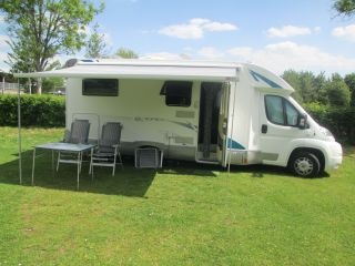 Very nice RIMOR Europeo camper with twin beds.