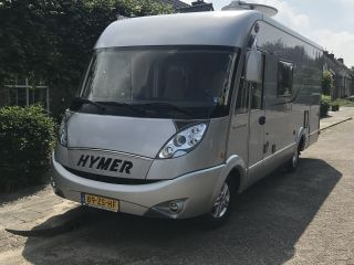 Fine, luxurious 4-person Hymer