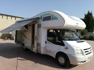 LUCA LIUC SAIU – CAMPER RECOMMENDED FOR THE FAMILY, SPACE FOR BIKE / MOTORCYCLE ON THE BACK