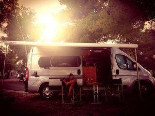 Puglia Miete Westfalia Camper Van in Puglia