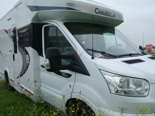 New luxurious motorhomes Chausson 711