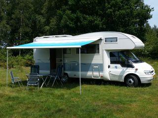 Geräumiger Familiencamper mit 7 Schlafplätzen