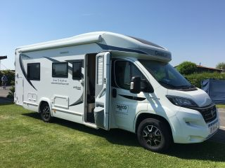 New luxurious motorhomes 747 Chausson