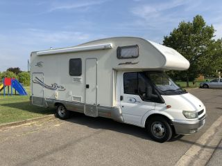 Camper rent 6 places with garage