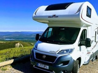 Luxury Scottish Motorhome Hire