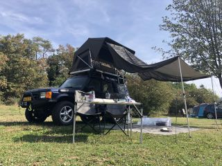 Ted – Land Rover Discovery II Offroad Adventure met Jimba Jimba Daktent