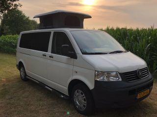 Betrouwbare volkswagen T5 1.9 tdi 135pk buscamper te huur
