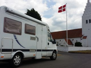 With our fine Camper Europe in !!