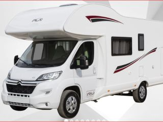PLA 435 – Alkoof familie motorhome / camper / mobilhome voor 6 + 1pers