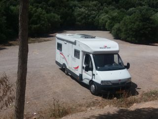 """Start your holiday in this fine temporary """"own"""" Camper"""