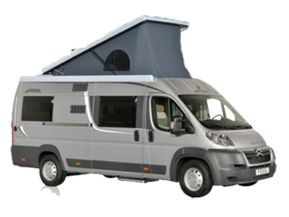 Possl Roadcruiser B with lifting roof for 4 people
