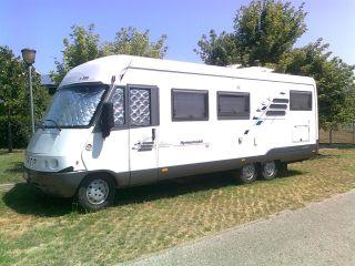 Hymer E700 Grande spazio e grande comfort!