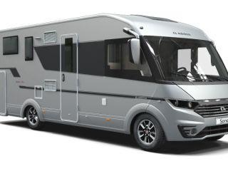 Luxe Hymer camper, volledig ingericht